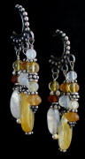Citrine and Sterling Earrings